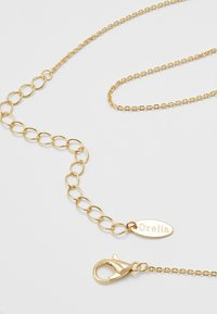 Orelia - STAR EMBELLISHED MOP DISC DITSY - Necklace - pale gold-coloured - 2