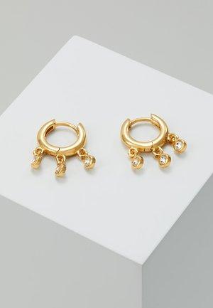 MINI DROP SHAKER HUGGIES - Pendientes - gold-coloured