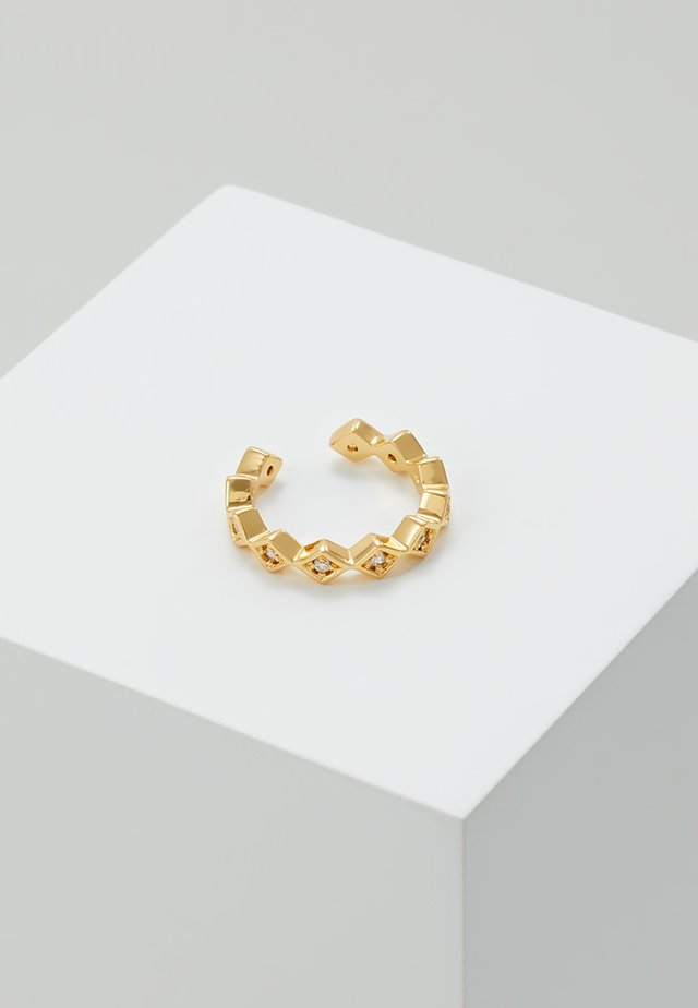 SHAPE SINGLE EAR CUFF - Ohrringe - gold-coloured