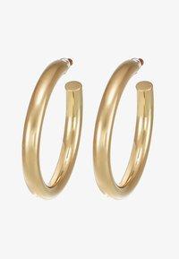 Orelia - LARGE CLEAN CHUNKY HOOP - Boucles d'oreilles - pale gold-coloured - 3