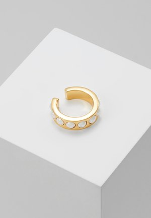 CHUNKY SINGLE EAR CUFF - Oorbellen - gold-coloured