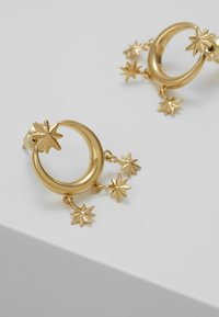Orelia - MINI STARBURST CHANDELIER EARRINGS - Náušnice - pale gold-coloured - 4