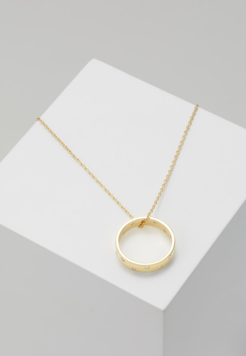 Orelia - RING THREAD THRU NECKLACE - Náhrdelník - gold-coloured