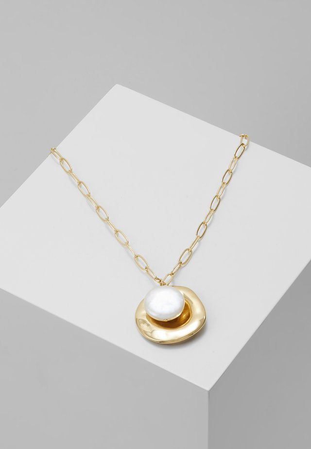 COIN CLUSTER NECKLACE - Ketting - gold-coloured