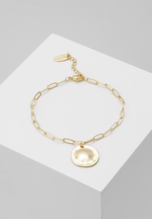 COIN CHUNKY CHAIN BRACELET - Bransoletka - pale gold-coloured