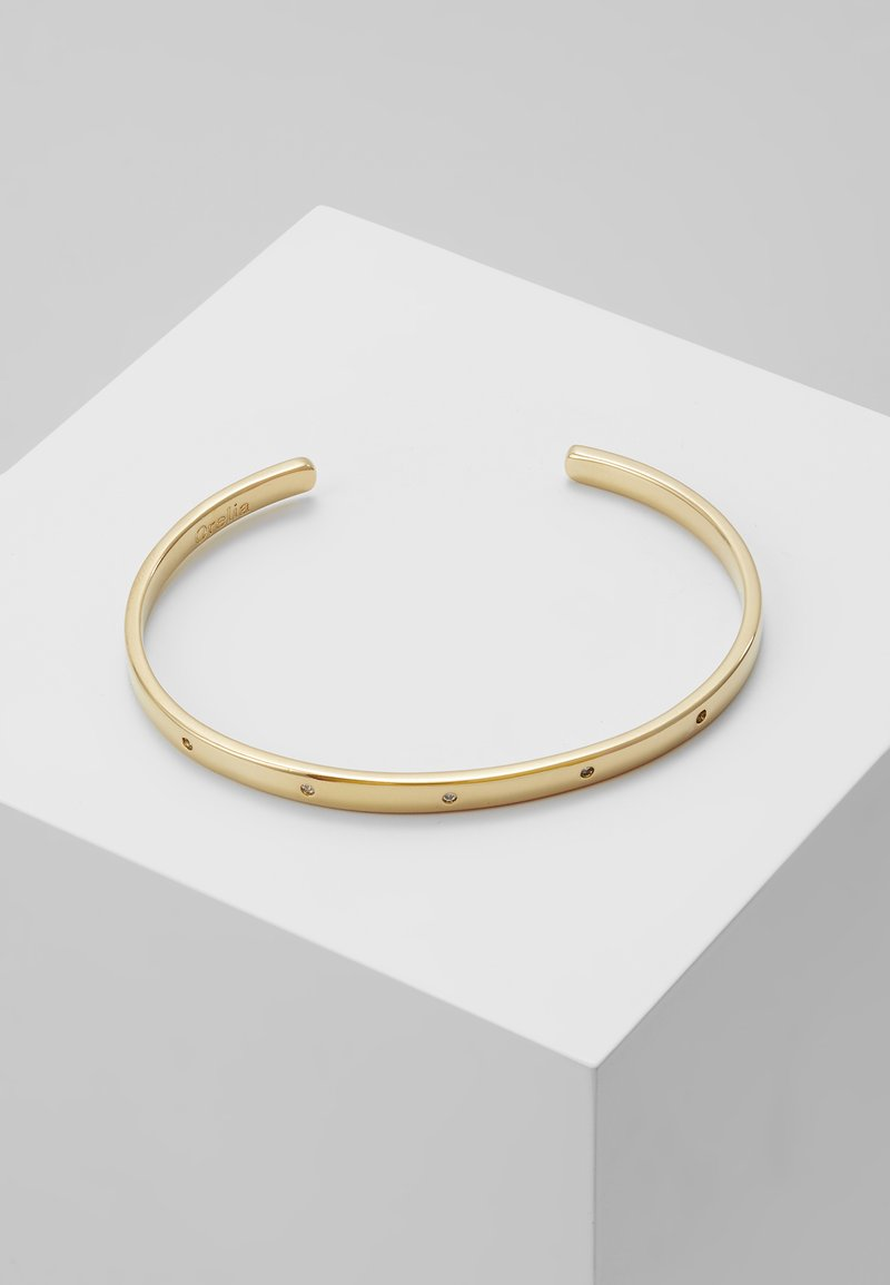 Orelia - DETAIL OPEN BANGLE - Pulsera - gold-coloured