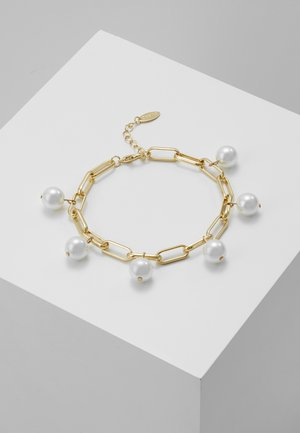 MULTI DROP CHUNKY CHAIN BRACELET - Armbånd - gold-coloured