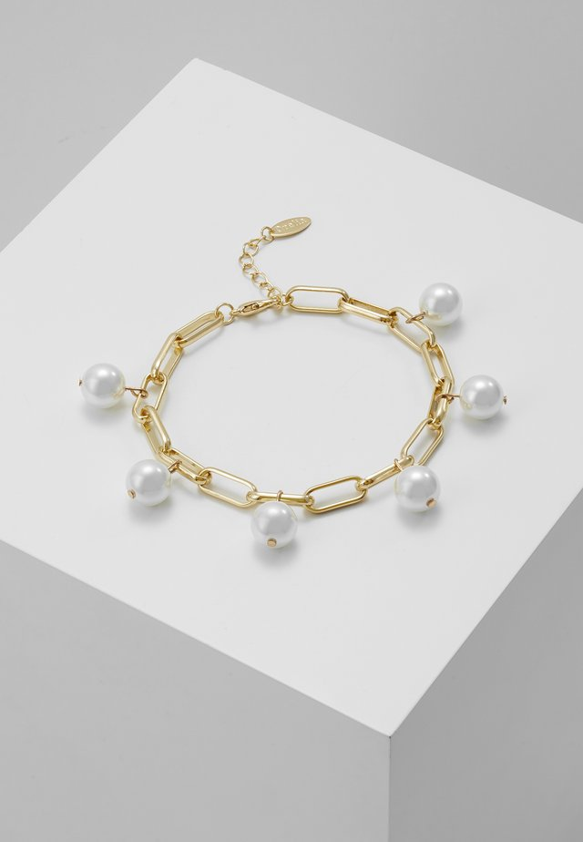 MULTI DROP CHUNKY CHAIN BRACELET - Armband - gold-coloured
