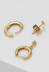 Orelia - LIGHTNING AND STAR EAR PARTY SET - Earrings - gold-coloured - 2