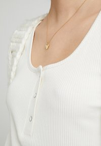 Orelia - HEART CHARM GIFT POUCH - Halskette - pale gold-coloured - 1