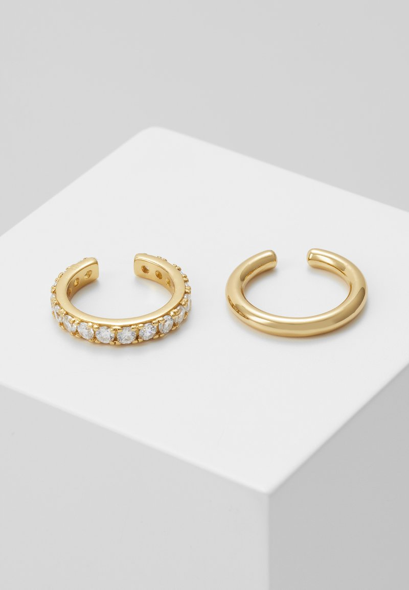Orelia - LUXE EAR CUFF 2 PACK - Øreringe - pale gold-coloured