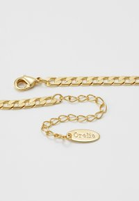 Orelia - FLAT LINK CURB CHAIN SINGLE NECKLACE - Smykke - gold-coloured - 3