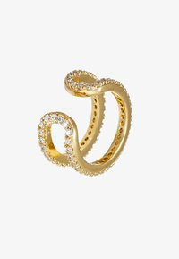 Orelia - PAVE TWO ROW EAR CUFF - Earrings - gold-coloured - 3