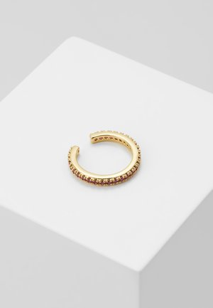 PAVE SINGLE EAR CUFF - Earrings - pale gold-coloured
