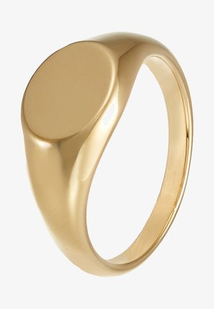 CLEAN OVAL SIGNET  - Anillo - pale gold-coloured