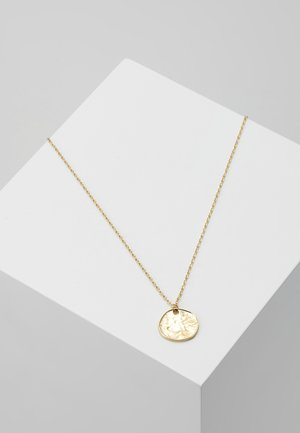 MINI COIN DITSY NECKLACE - Halskette - pale gold-coloured