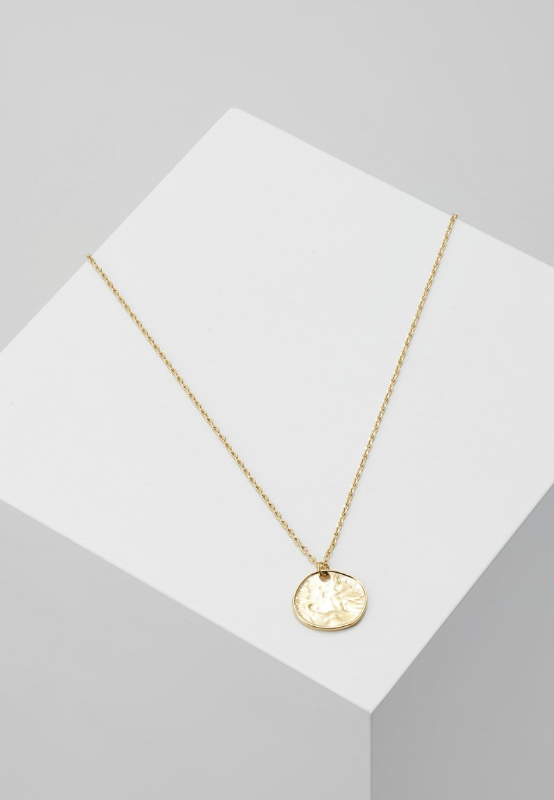 Orelia - MINI COIN DITSY NECKLACE - Necklace - pale gold-coloured