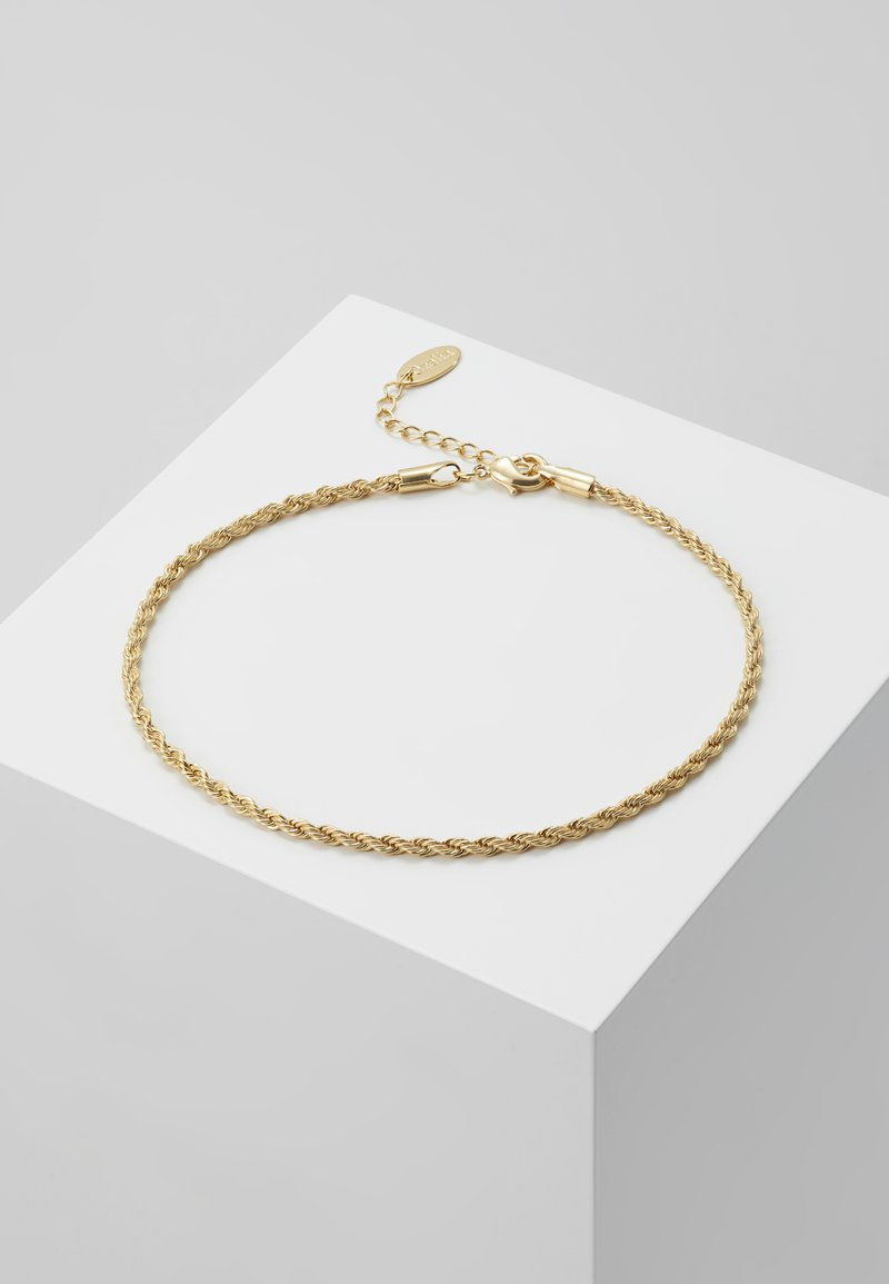 Orelia - ROPE CHAIN ANKLET - Annet - pale gold-coloured