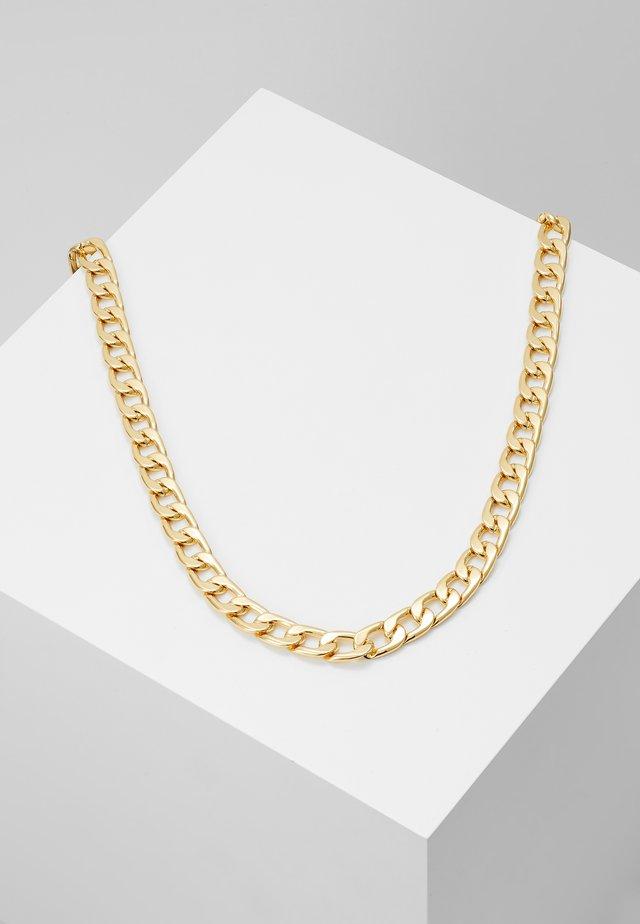 CHUNKY CHAIN NECKLACE - Kaulakoru - pale gold-coloured