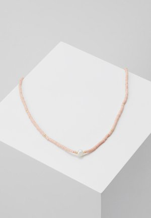 COLLAR LENGTH  - Necklace - coral