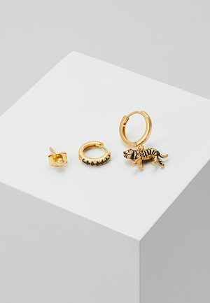 TIGER JET PAVE EAR PARTY PACK SET - Earrings - jet