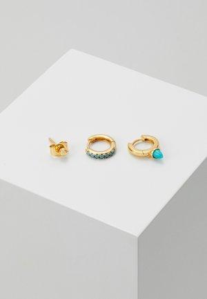 SPIKE EAR PARTY SET - Earrings - gold-coloured