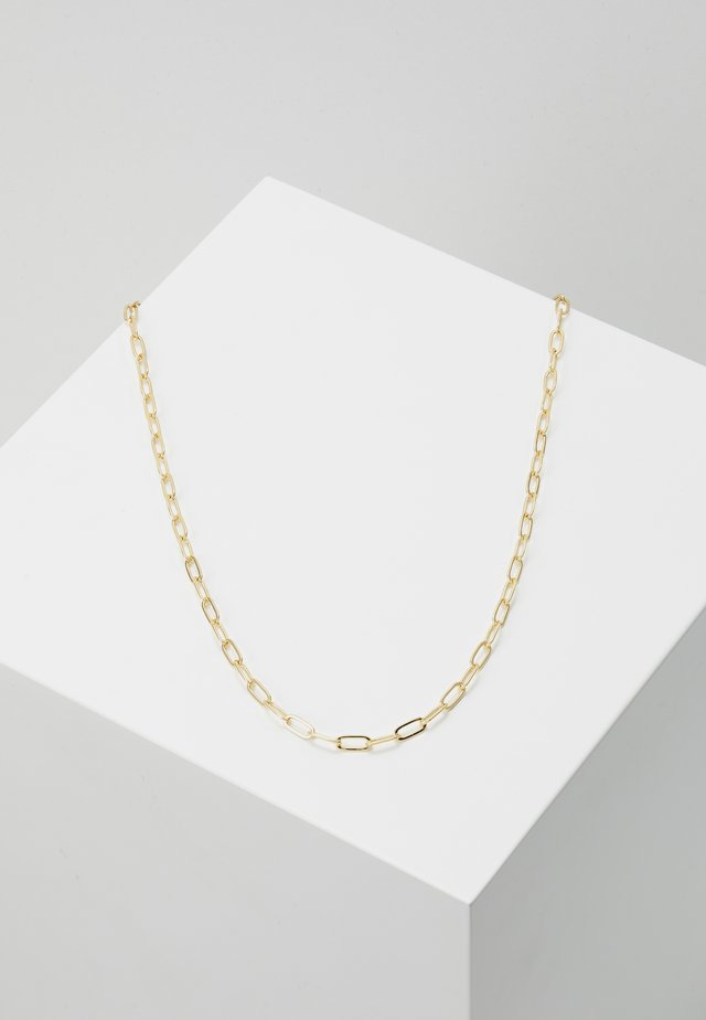 LINK CHAIN NECKLACE - Halsband - pale gold-coloured