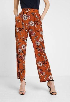 Pantalon classique - mocha