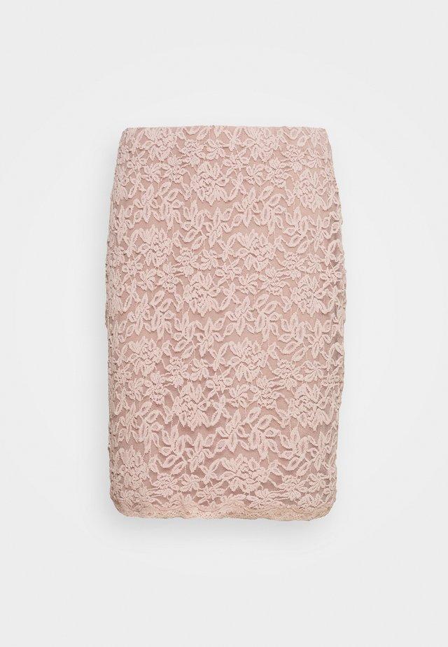Pencil skirt - vintage powder
