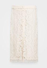 Rosemunde - SKIRT - Áčková sukně - whisper beige - 3