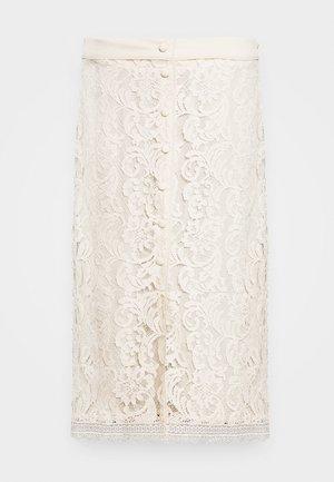SKIRT - A-line skjørt - whisper beige