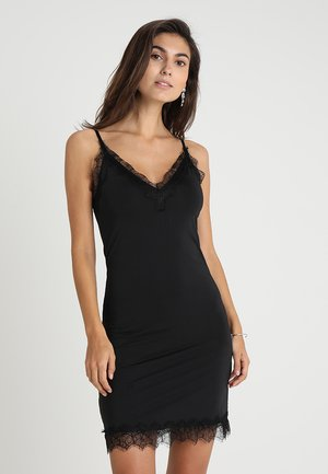 STRAP DRESS - Cocktailklänning - black