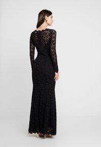 Rosemunde - DRESS LS - Ballkjole - black - 3