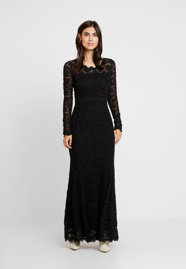 DRESS LS - Ballkleid - black