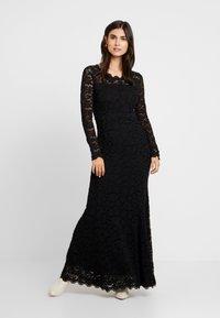 Rosemunde - DRESS LS - Ballkjole - black - 2
