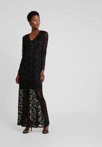 Rosemunde - LONG LACE DRESS - Iltapuku - black - 0