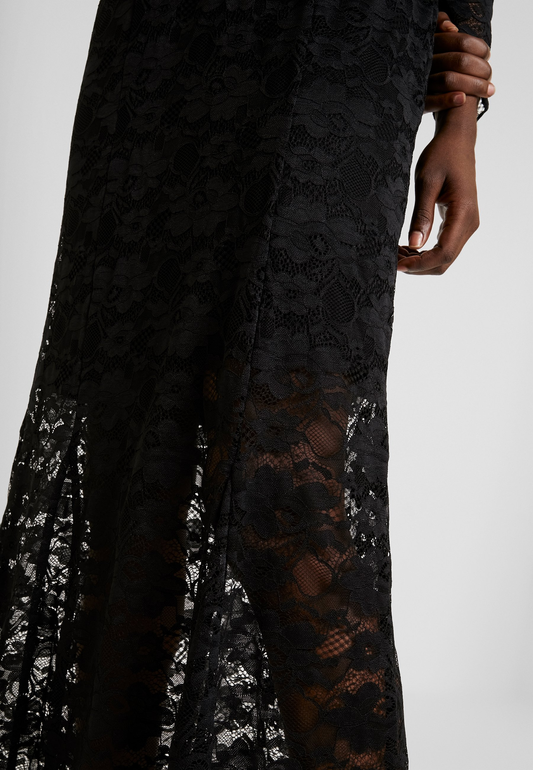 Rosemunde LONG LACE DRESS - Suknia balowa - black