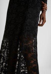 Rosemunde - LONG LACE DRESS - Iltapuku - black - 6