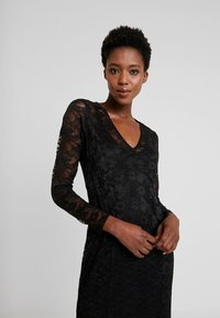 Rosemunde - LONG LACE DRESS - Iltapuku - black - 4