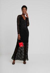 Rosemunde - LONG LACE DRESS - Iltapuku - black - 2