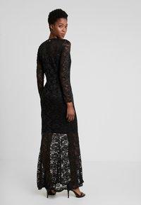 Rosemunde - LONG LACE DRESS - Iltapuku - black - 3