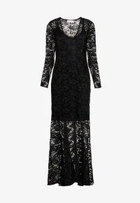 Rosemunde - LONG LACE DRESS - Iltapuku - black - 5