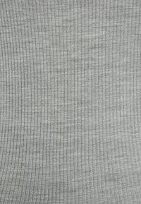 Rosemunde - SILK-MIX CARDIGAN REGULAR LS W/REV VINTAGE LACE - Strickjacke - grey melange - 6