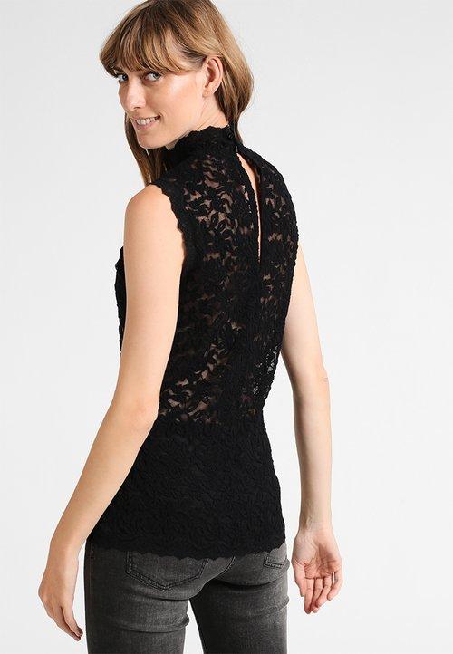 wylot Rosemunde DELICIA - Bluzka - black Odzież Damska SSQH-KC8