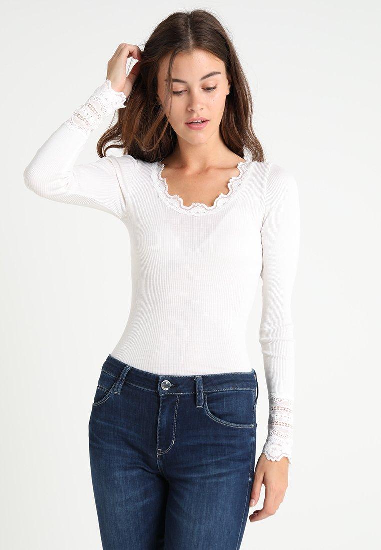 Rosemunde - Long sleeved top - new white
