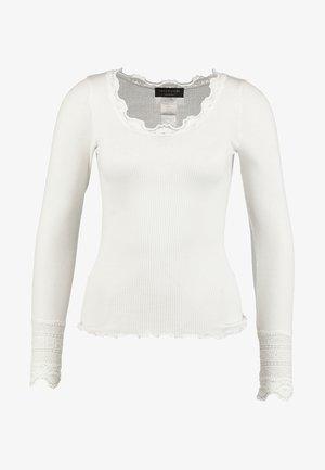 Camiseta de manga larga - new white