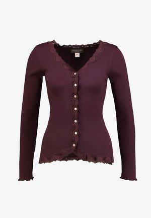 BABETTE - Långärmad tröja - bourgogne