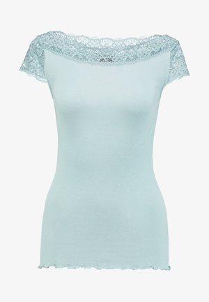 T-shirt med print - cloud blue