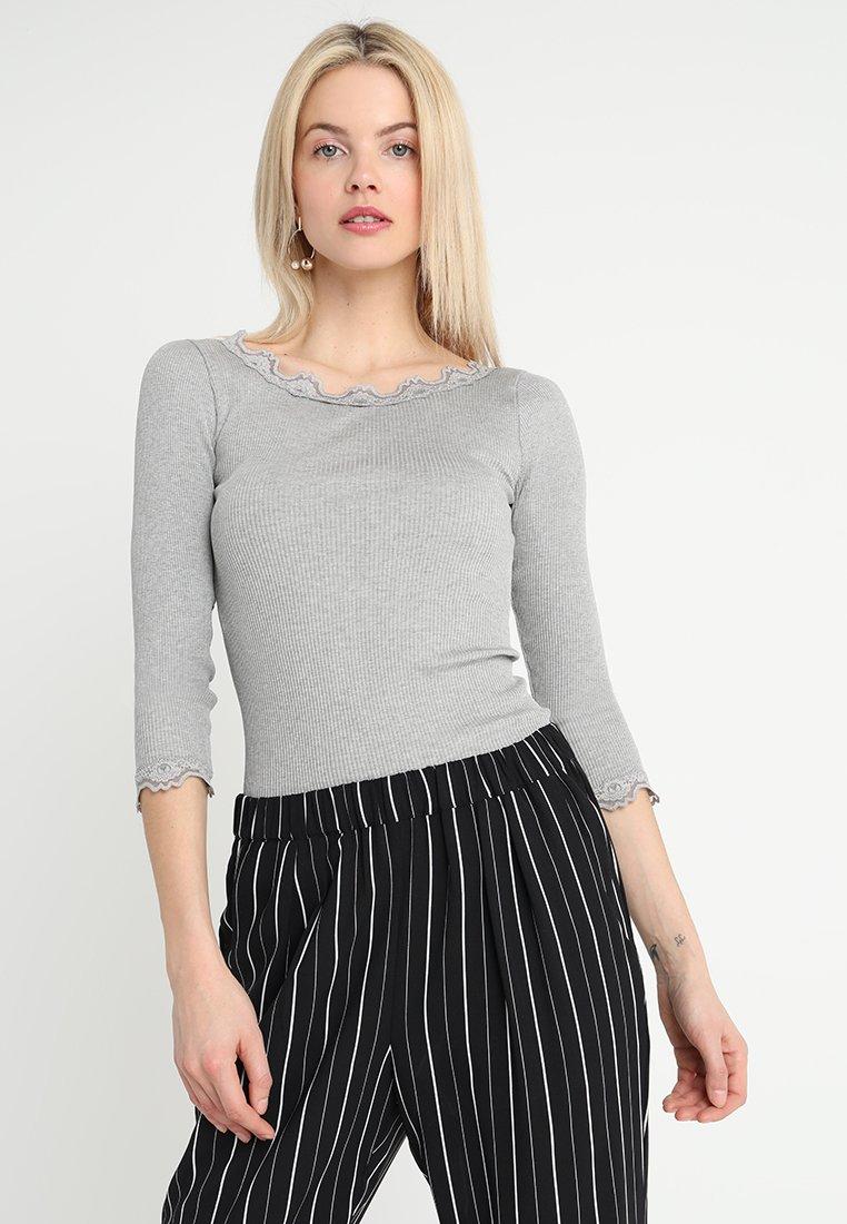 Rosemunde - BABETTE - Long sleeved top - light grey melange