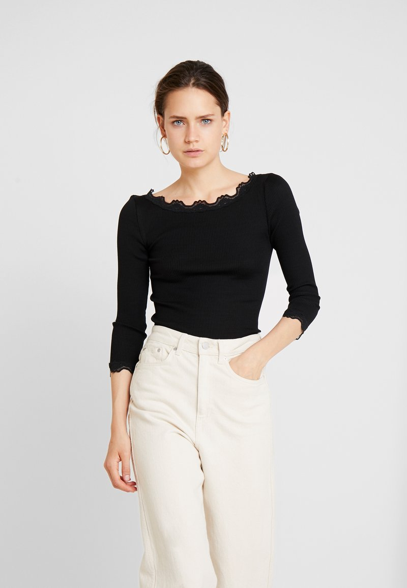 Rosemunde - BABETTE - Langarmshirt - black